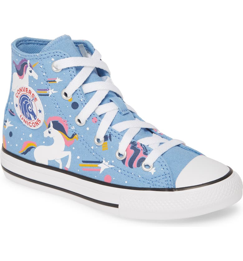 CONVERSE Chuck Taylor<sup>®</sup> All Star<sup>®</sup> Unicorns High Top Sneaker, Main, color, 472