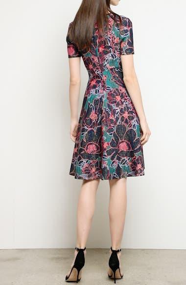 Metallic Oleander Jacquard Sweater Dress, video thumbnail