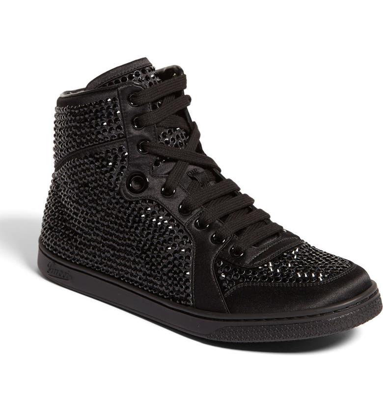 69aafc8a3 'Coda' Crystal Stud High Top Sneaker, Main, color, ...