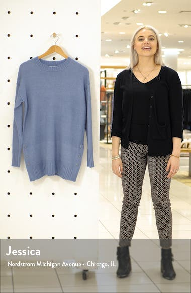 Side Snap Tunic Sweater, sales video thumbnail