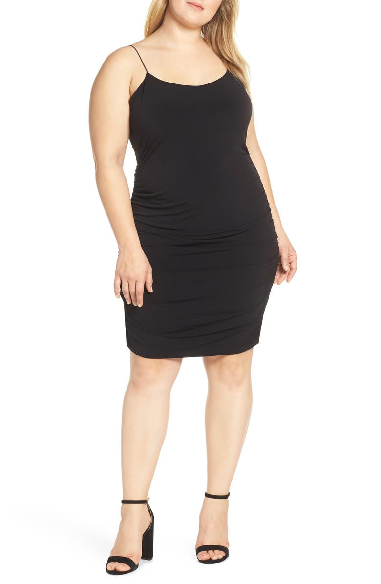 LEITH Body-Con Minidress, Main, color, 001