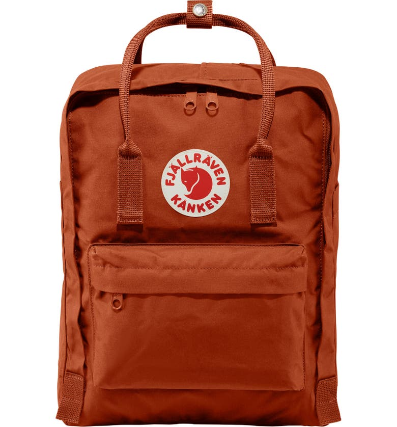 FJÄLLRÄVEN Kånken Water Resistant Backpack, Main, color, AUTUMN LEAF