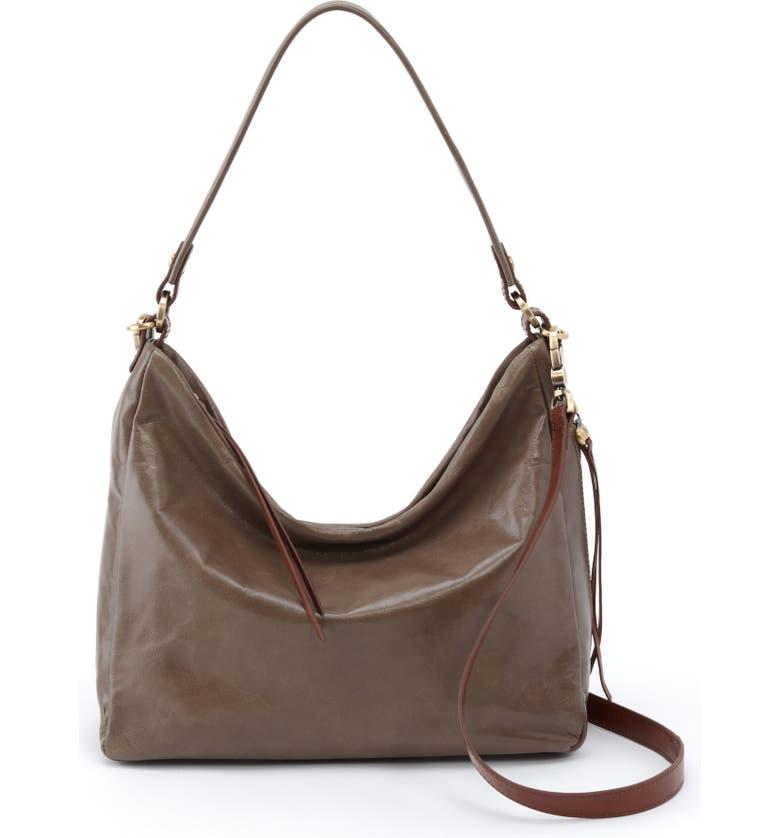 HOBO Delilah Convertible Hobo Bag, Main, color, SHADOW