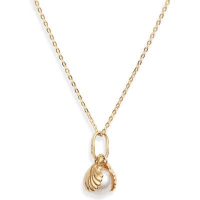 Loren Stewart Secret Shell Pearl Necklace