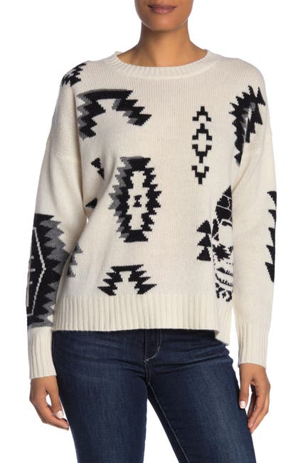 Image of SKULL CASHMERE Brielle Wool & Cashmere Blend Sweater