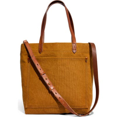 Madewell Medium Canvas Transport Tote - Brown