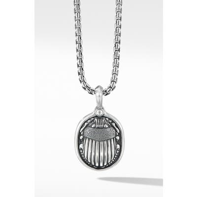 David Yurman Petrvs Scarab Amulet Enhancer