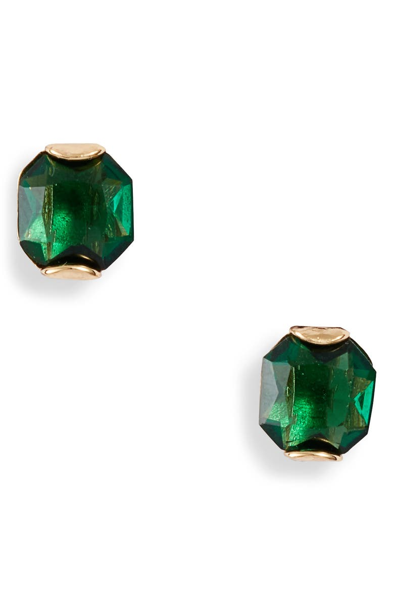 KATE SPADE NEW YORK that sparkle princess cut stud earrings, Main, color, 300