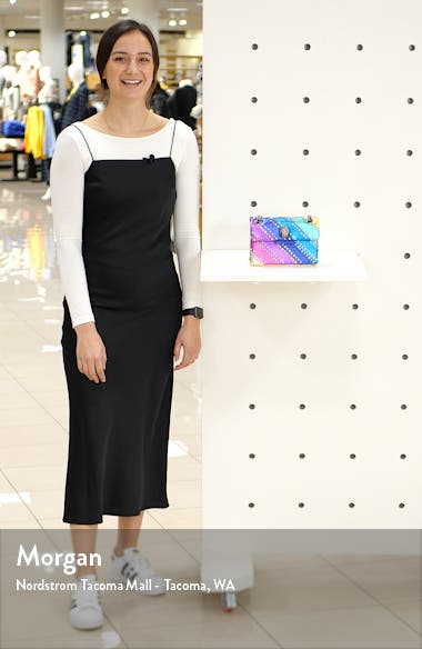 Mini Kensington Crystal Crossbody Bag, sales video thumbnail