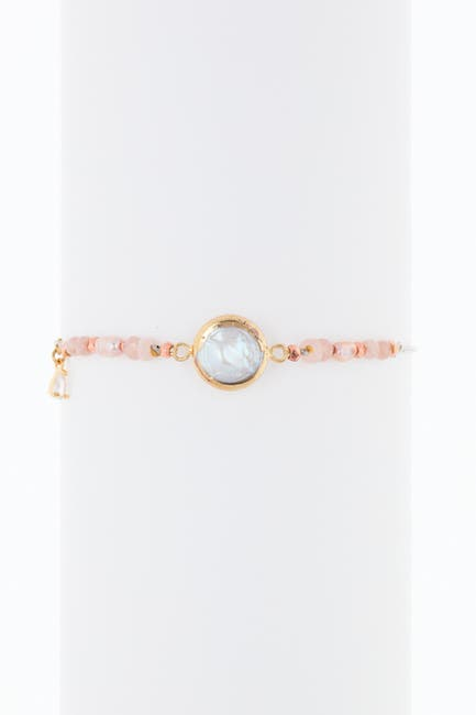 Image of Nakamol Design Stone Station Freshwater Pearl Bracelet