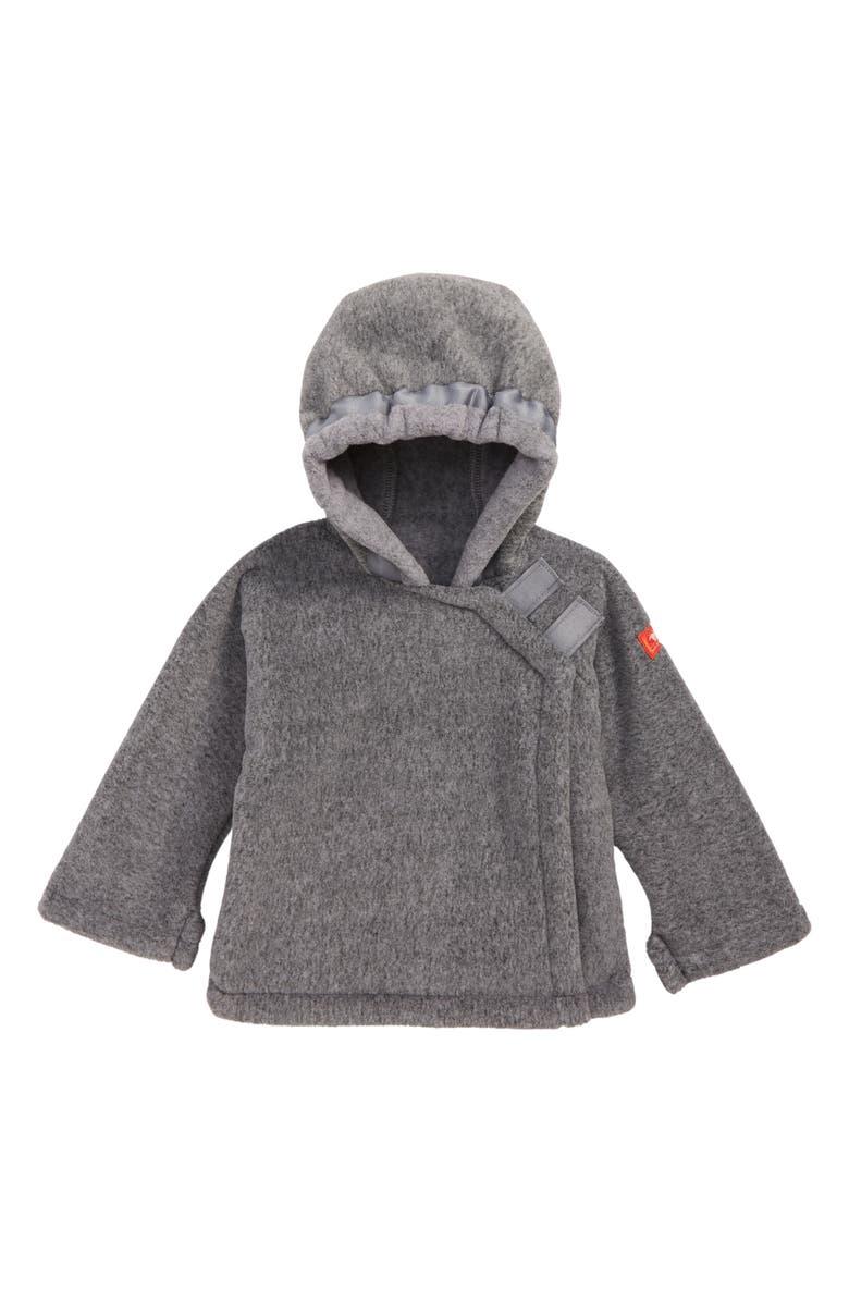 WIDGEON Warmplus Favorite Water Repellent Polartec<sup>®</sup> Fleece Jacket, Main, color, HEATHER GREY