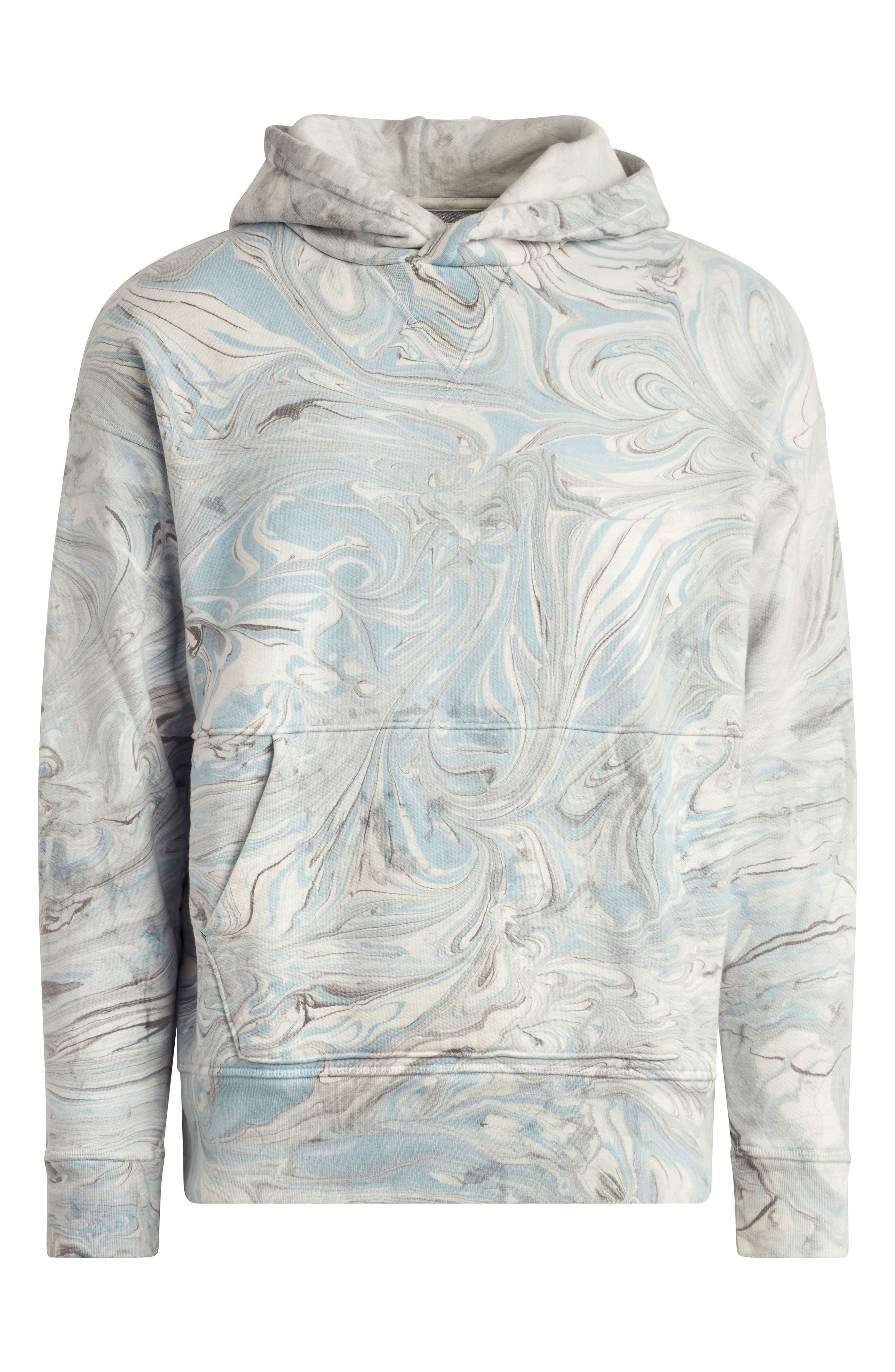 Marble Dye French Terry Hoodie