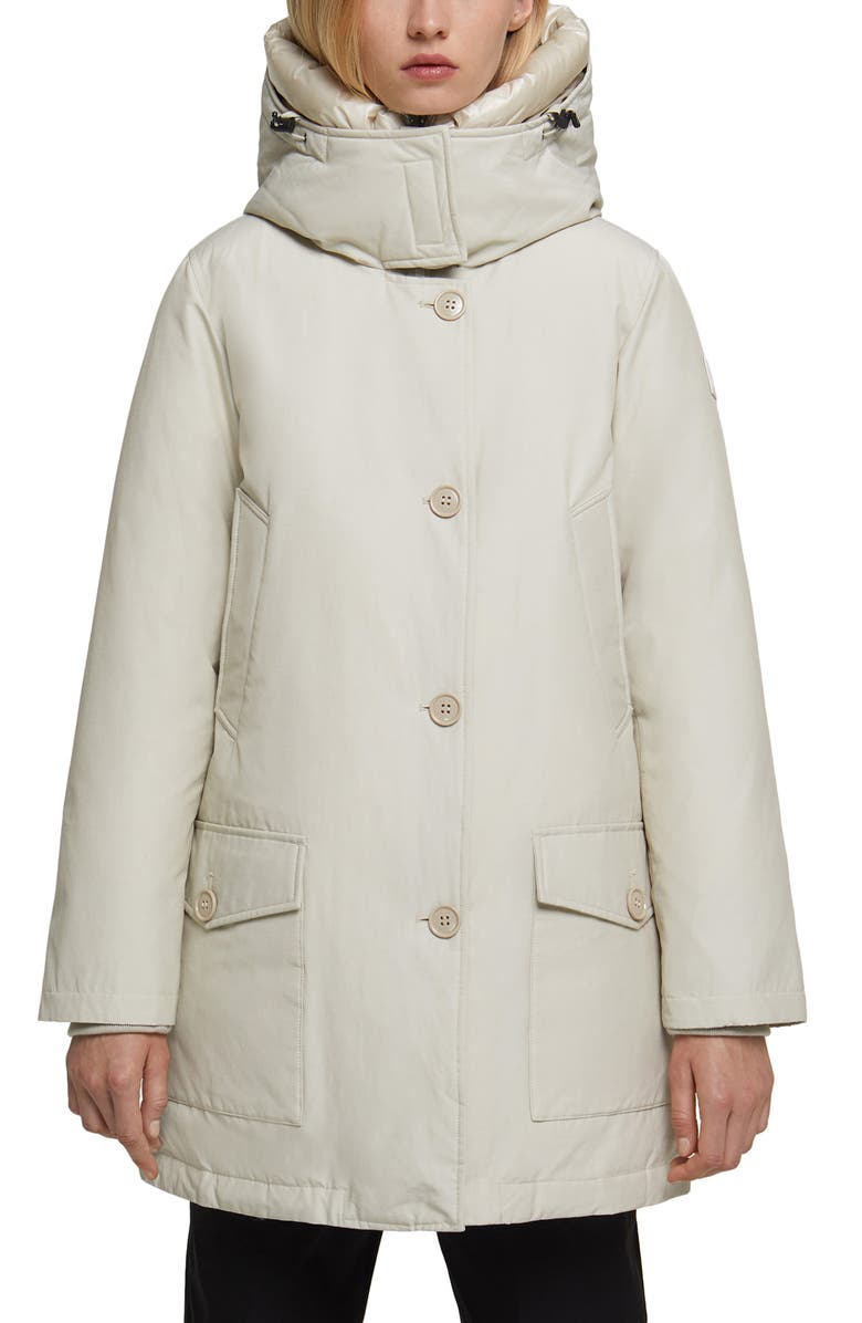 WOOLRICH Water Repellent Down Parka, Main, color, 155