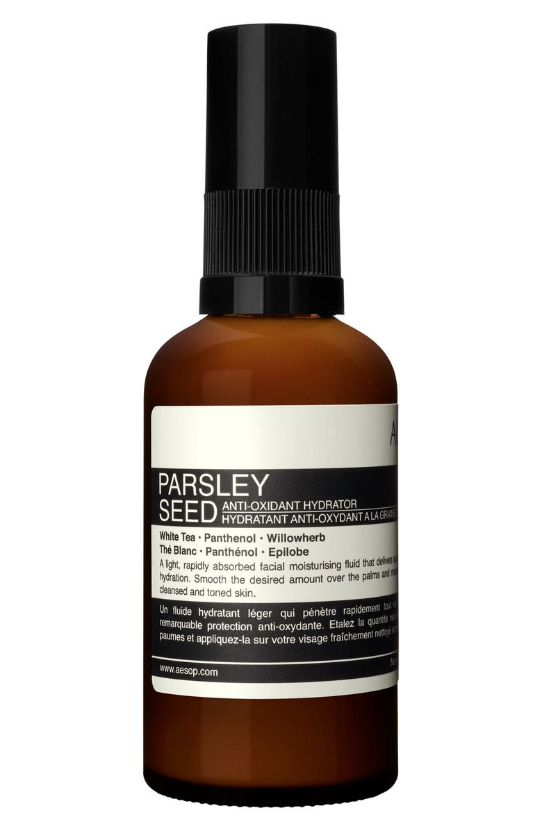 AESOP Parsley Seed Anti-Oxidant Hydrator Fluid Moisturizer, Main, color, NONE