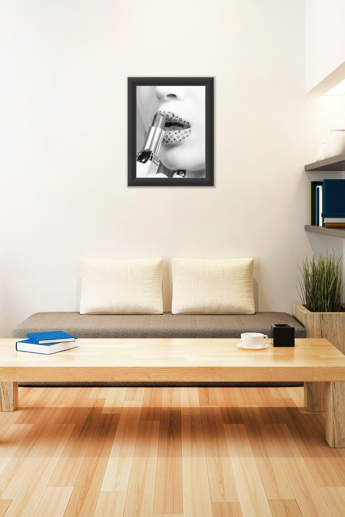 Image of PTM Images Lipstick Framed Giclee Print