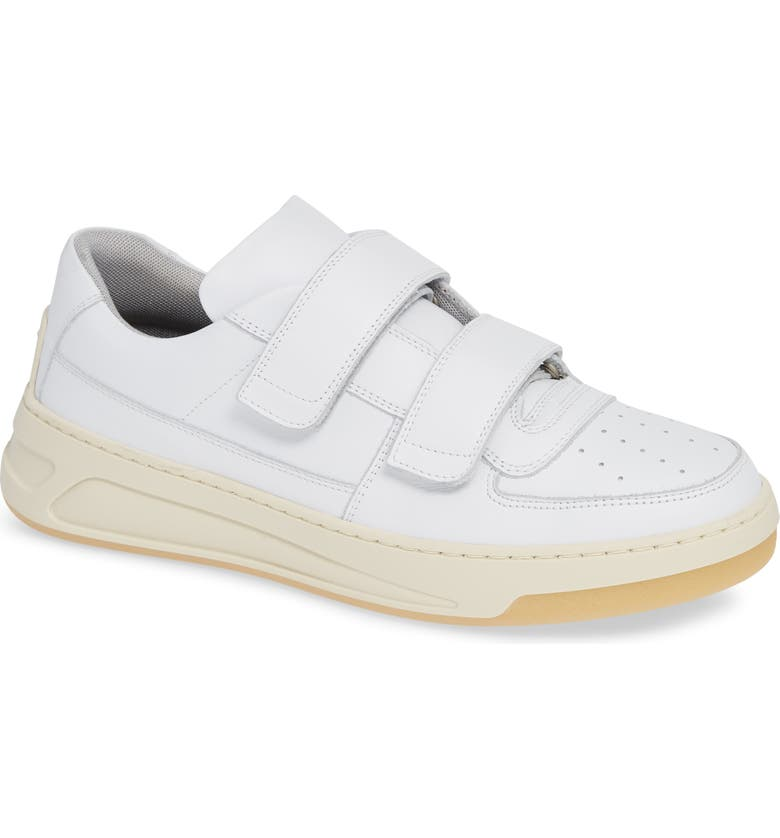 ACNE STUDIOS Perey Face Sneaker, Main, color, 100