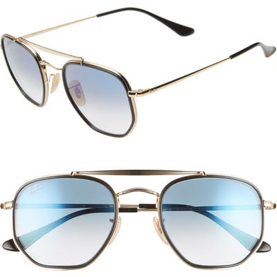 Ray-Ban 52Mm Aviator Sunglasses -