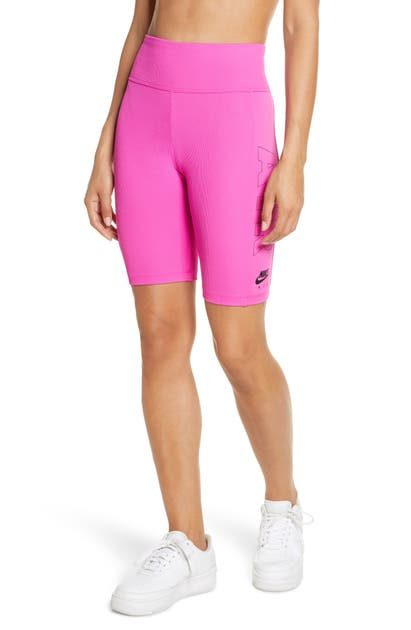 Corrispondenza Piano inferiore squadra  Nike Air Bike Shorts In Fire Pink | ModeSens