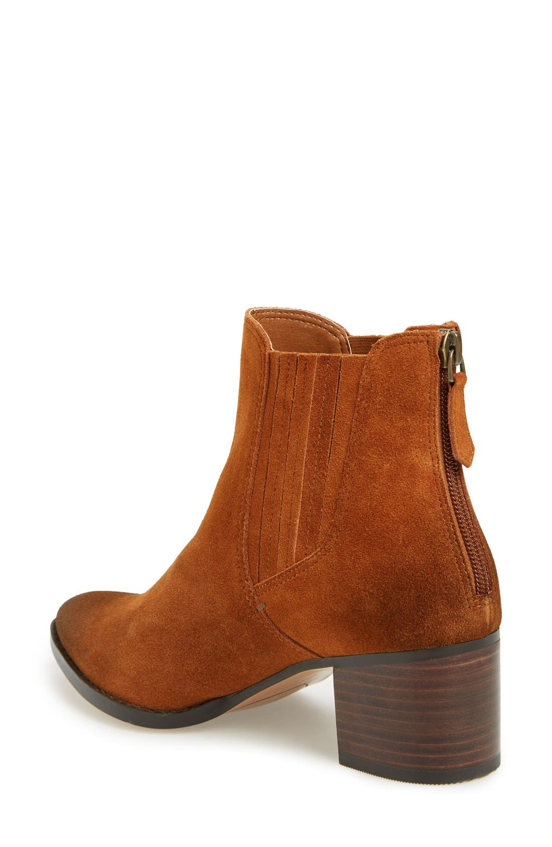 ,                             'Bailey' Pointy Toe Block Heel Bootie,                             Alternate thumbnail 8, color,                             200