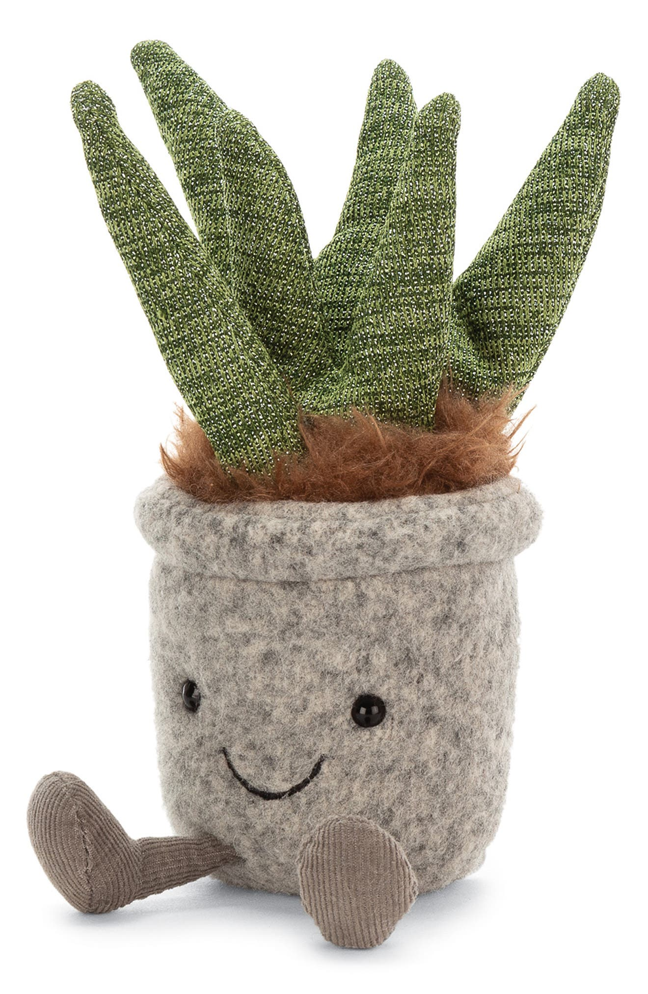 Toddler Jellycat Silly Succulent Aloe Plush Toy