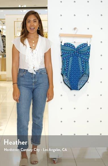 Mosaica Seville Bandeau One-Piece Swimsuit, sales video thumbnail