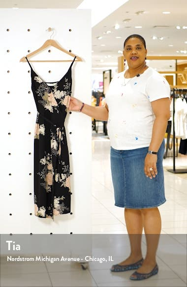 Florentina Sleeveless Wrap Dress, sales video thumbnail