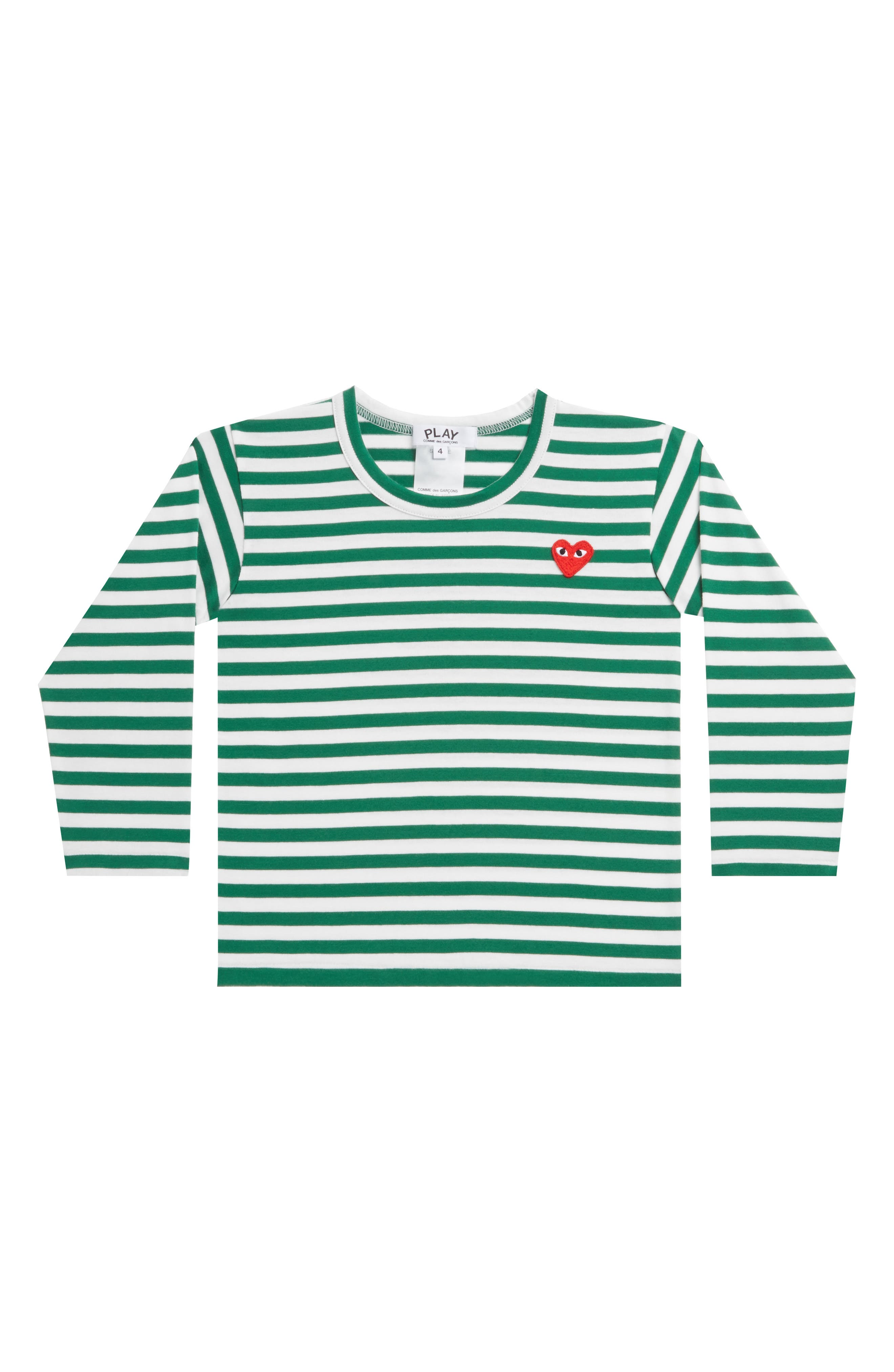 ,                             Stripe T-Shirt,                             Main thumbnail 1, color,                             GREEN
