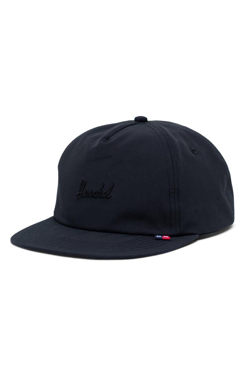 HERSCHEL SUPPLY CO. Scout Baseball Cap, Main, color, BLACK