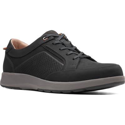 Clarks Un Trail Form Sneaker, Black