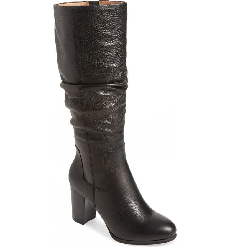 VIONIC Lolita Boot, Main, color, BLACK LEATHER