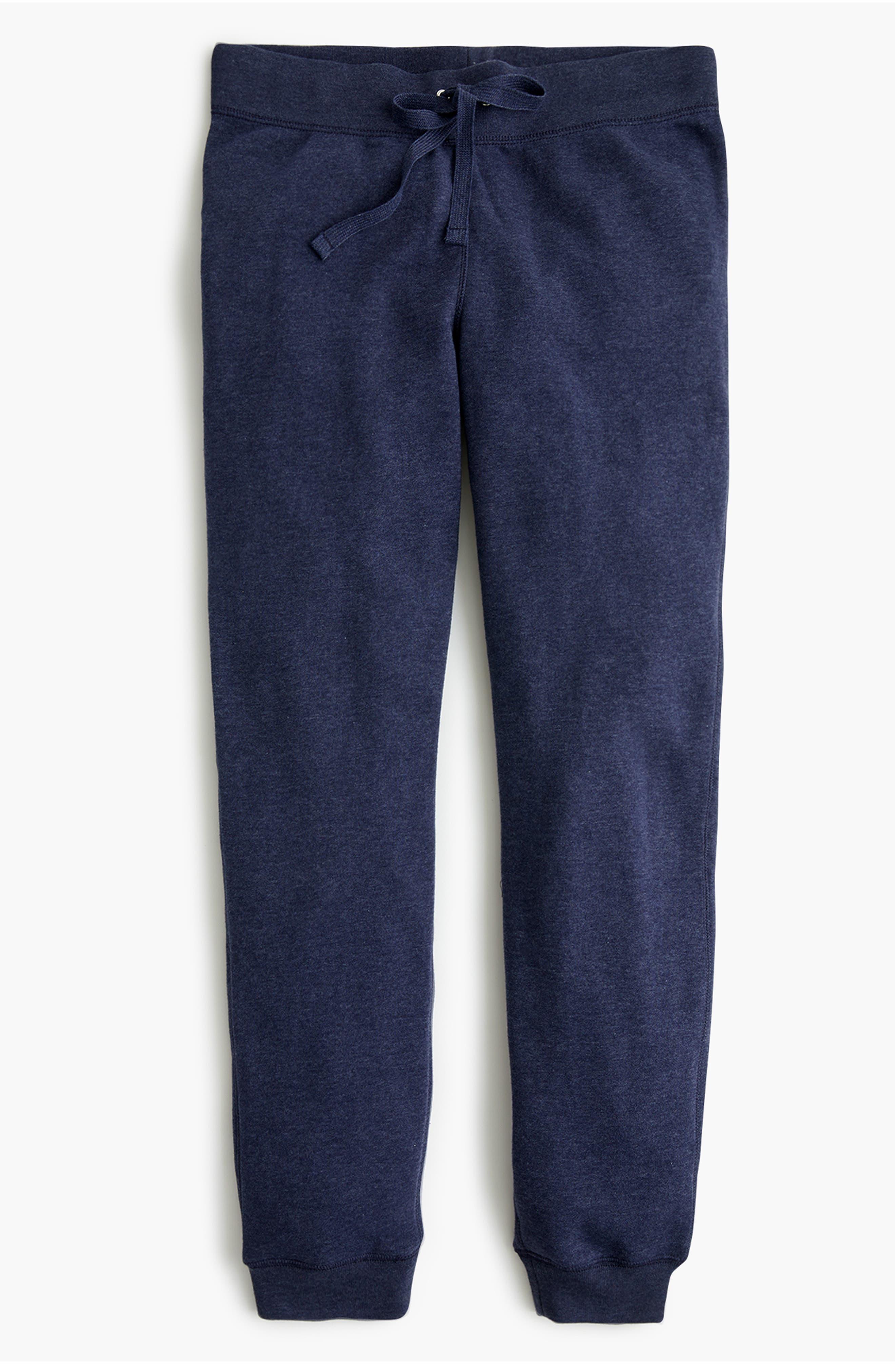Plus Size J.crew Supersoft Fleece Sweatpants, Blue