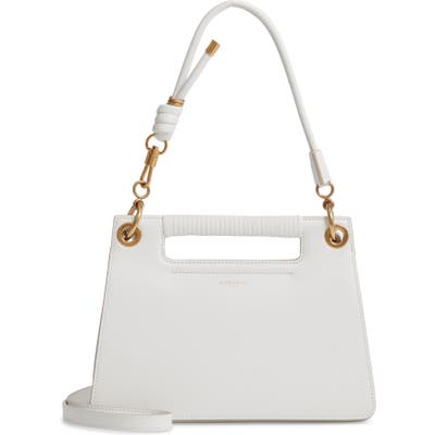 Givenchy Small Whip Top Handle Bag - White