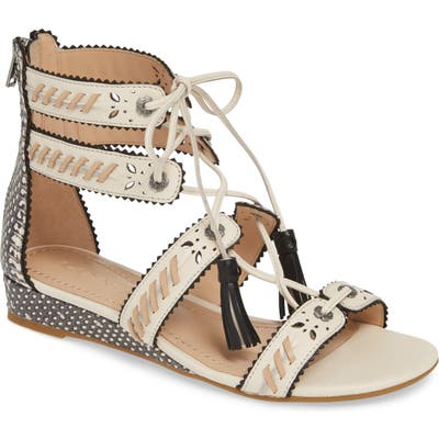 Coach Via Demi Wedge Sandal- Ivory