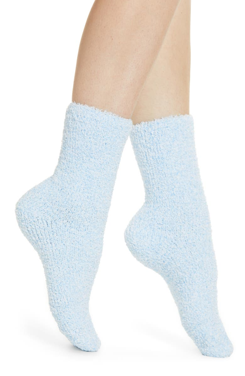 NORDSTROM Butter Crew Socks, Main, color, 405