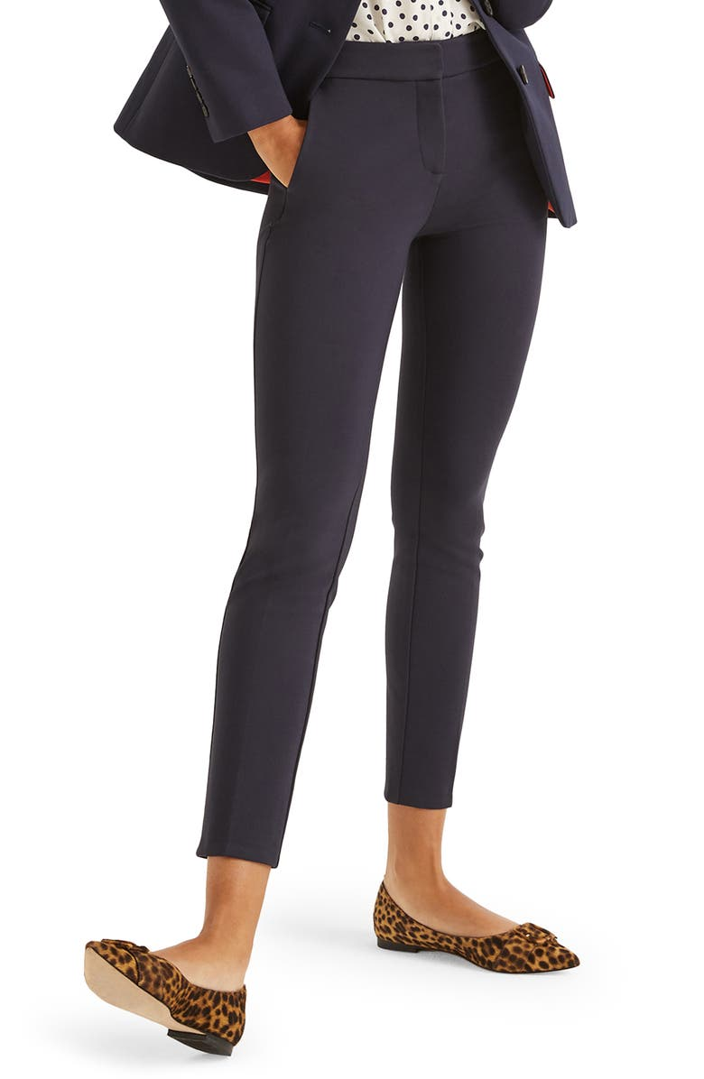 BODEN Hampshire Ankle Pants, Main, color, NAVY