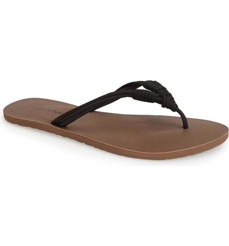 VOLCOM 'Have Fun' Thong Sandal, Main, color, 001