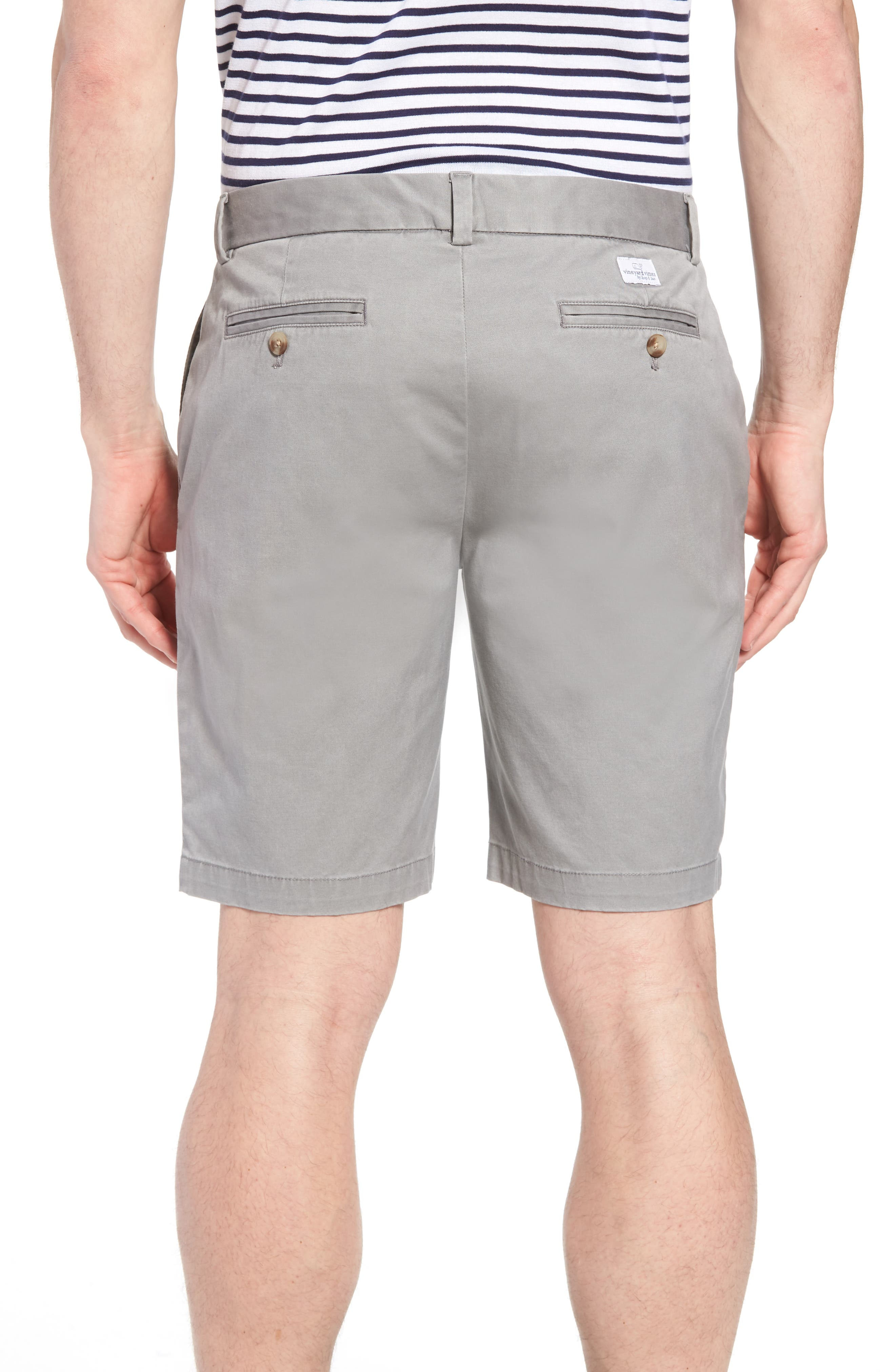 ,                             9 Inch Stretch Breaker Shorts,                             Alternate thumbnail 2, color,                             ANCHOR GREY