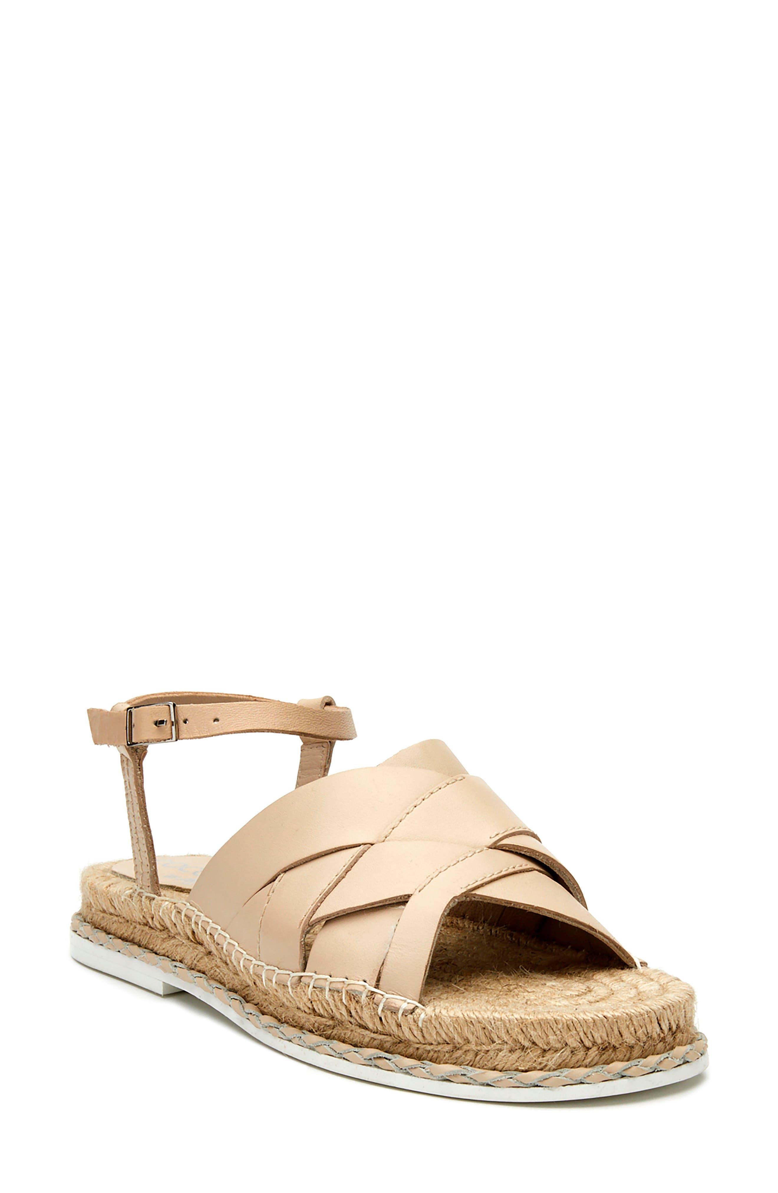 Nicolette Ankle Strap Espadrille Sandal
