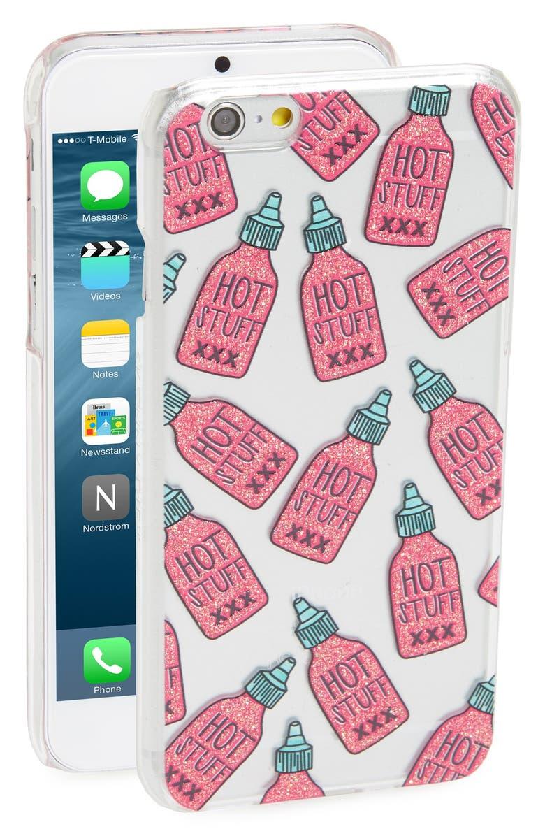 SKINNYDIP 'Hot Stuff' iPhone 6 & 6s Case, Main, color, 650