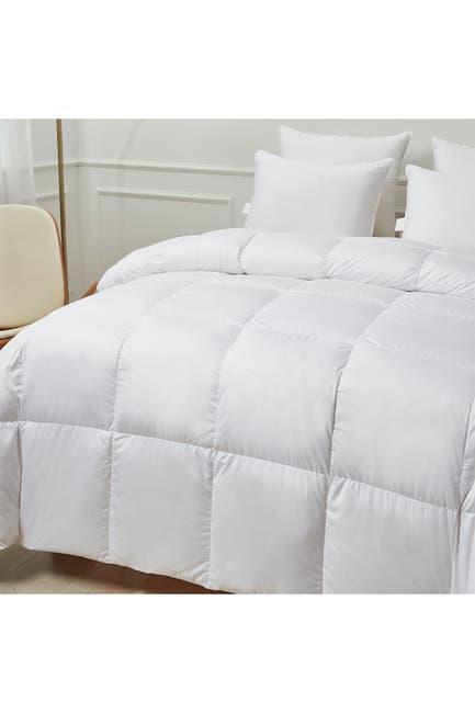 Image of Blue Ridge Home Fashions Kathy Ireland Ultra-Soft Nano-Touch Extra Warmth White Down Fiber Comforter - King