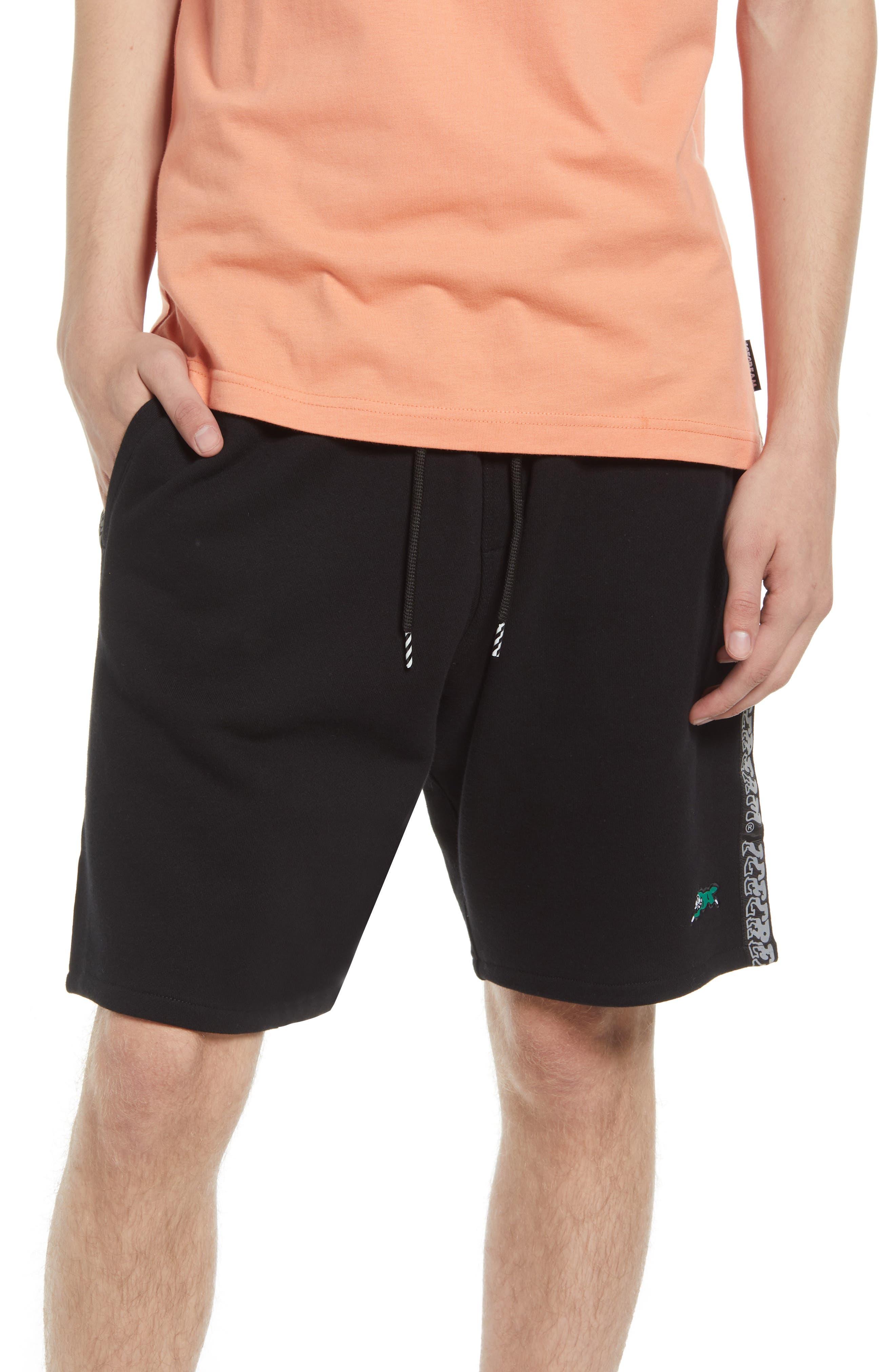 Reflect Drawstring Cotton Shorts
