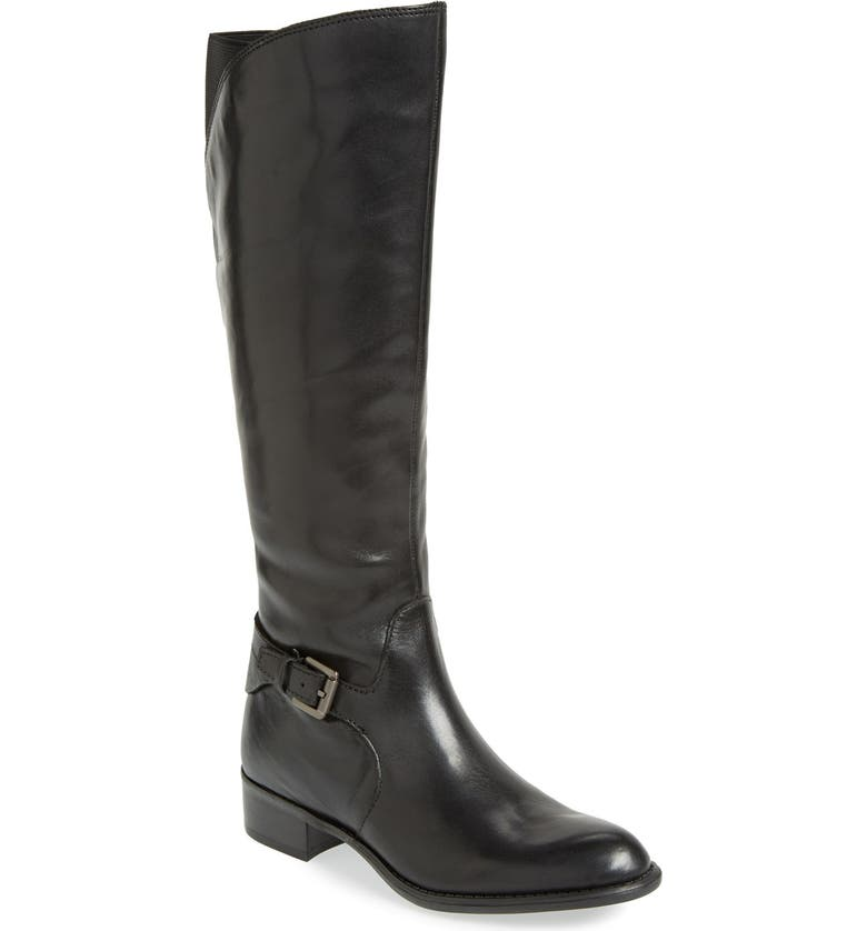 FRANCO SARTO 'Craze' Knee High Leather Boot, Main, color, 001
