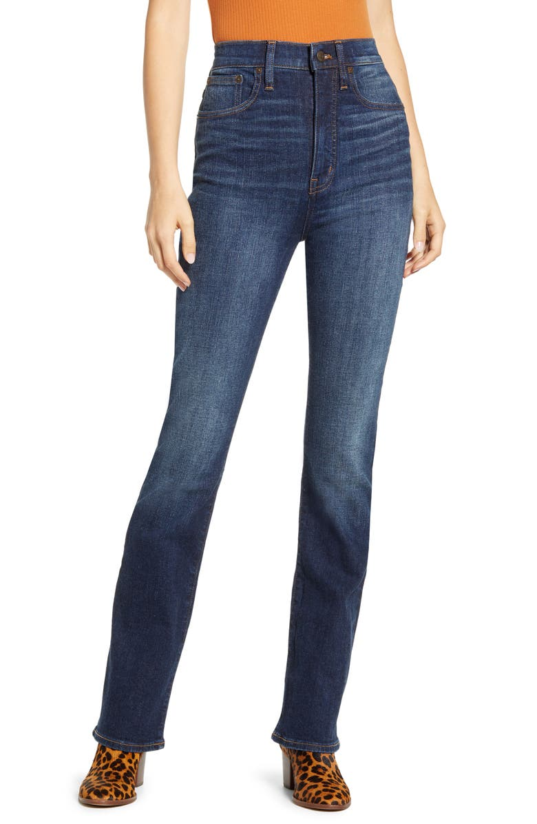 MADEWELL Skinny Flare Jeans, Main, color, LASALLE WASH