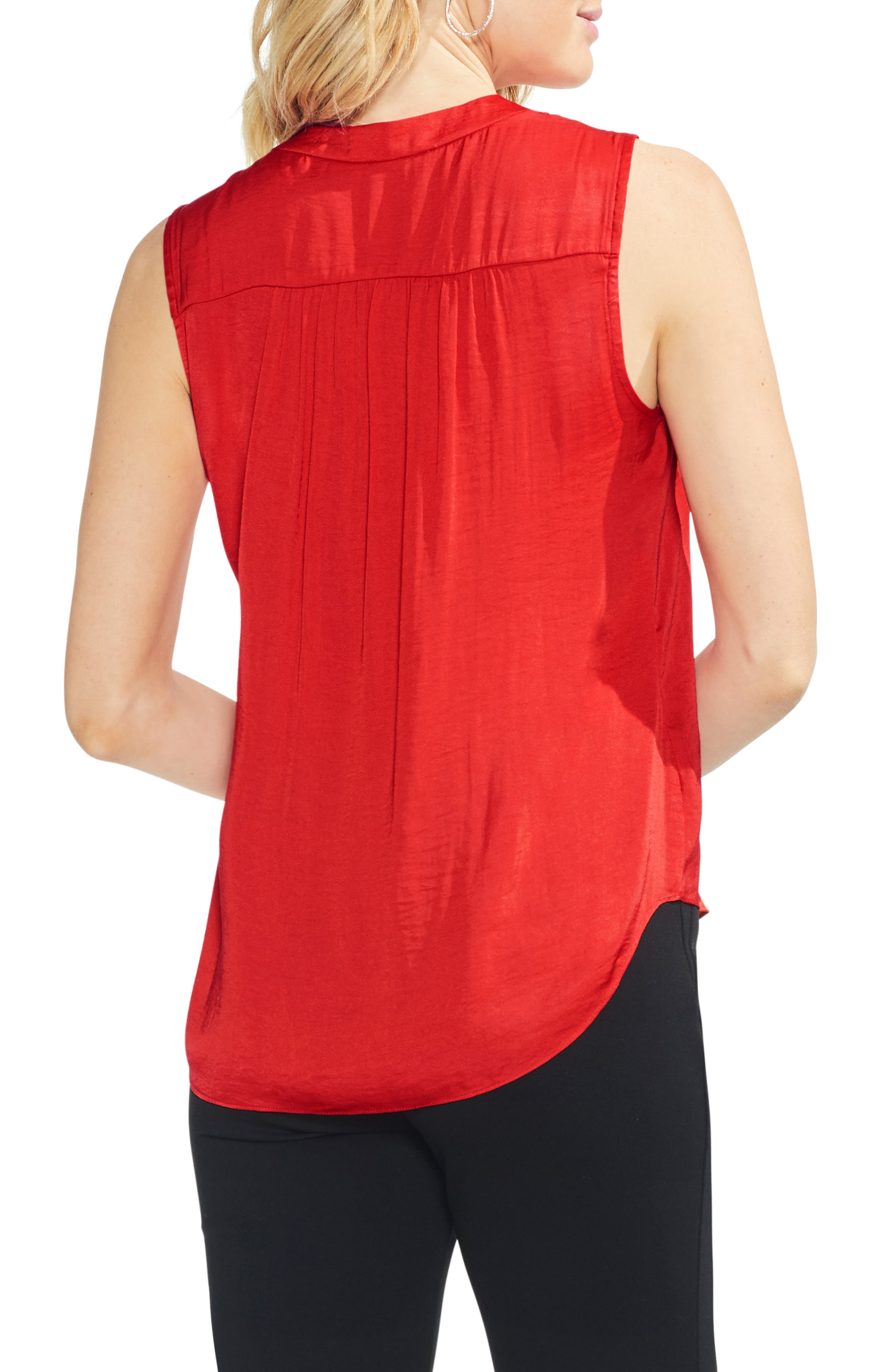 ,                             Rumpled Satin Blouse,                             Alternate thumbnail 222, color,                             629