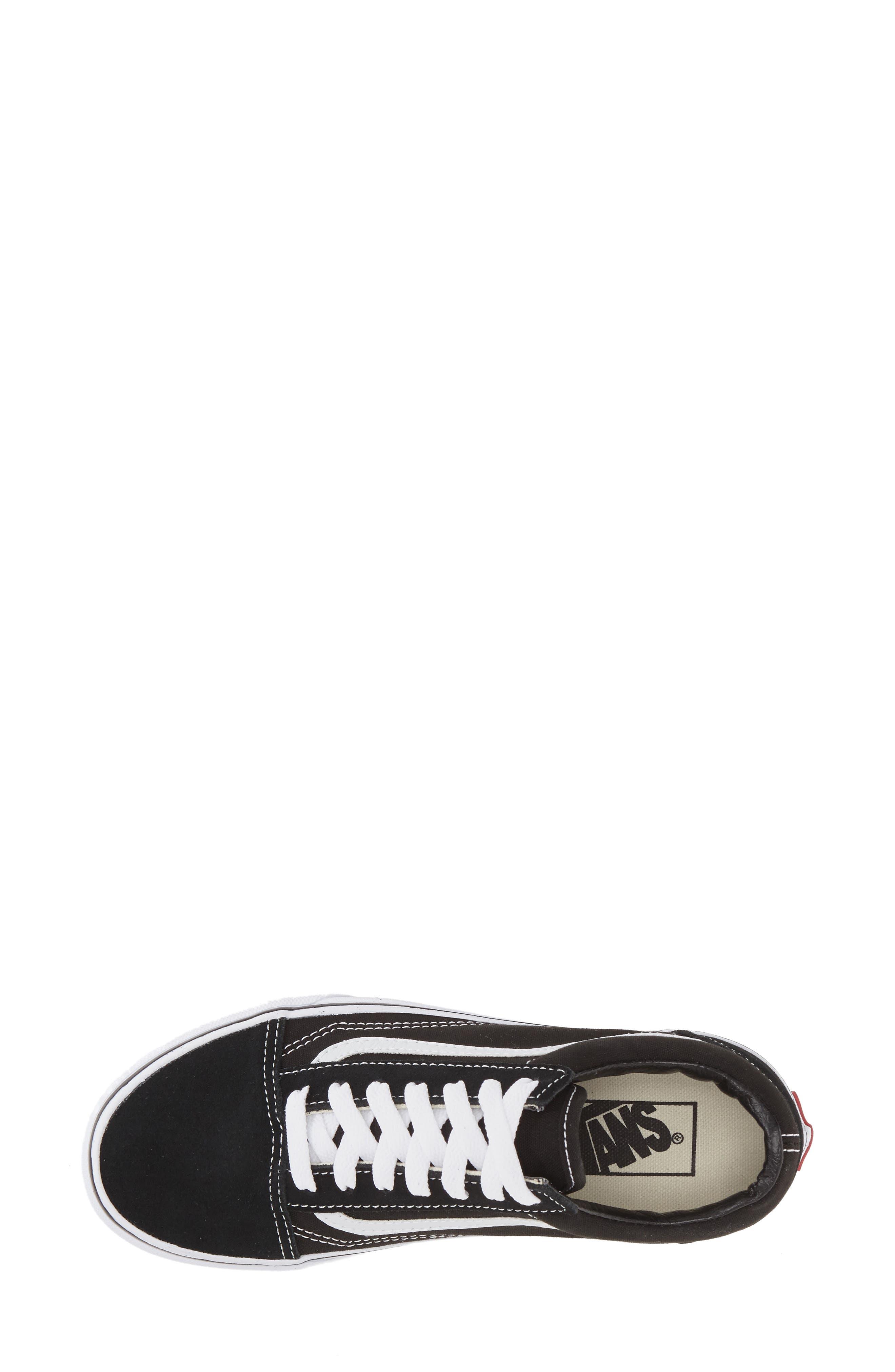 ,                             Old Skool Sneaker,                             Alternate thumbnail 3, color,                             BLACK CANVAS