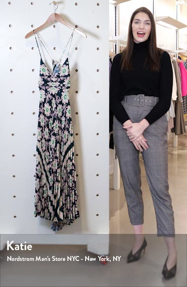 Gemini Print Pleated Dress, sales video thumbnail