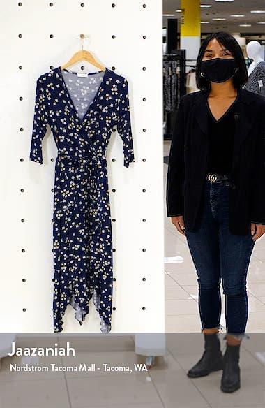 Loveapella Faux Wrap Midi Dress, sales video thumbnail