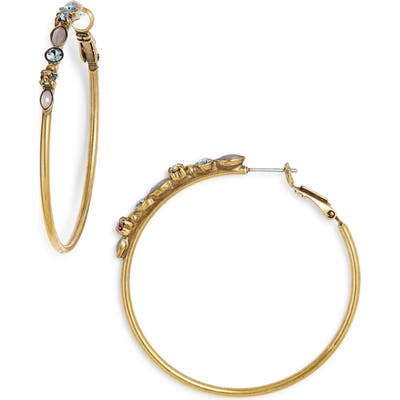 Sorrelli Large Mixed Media Hoop Earrings