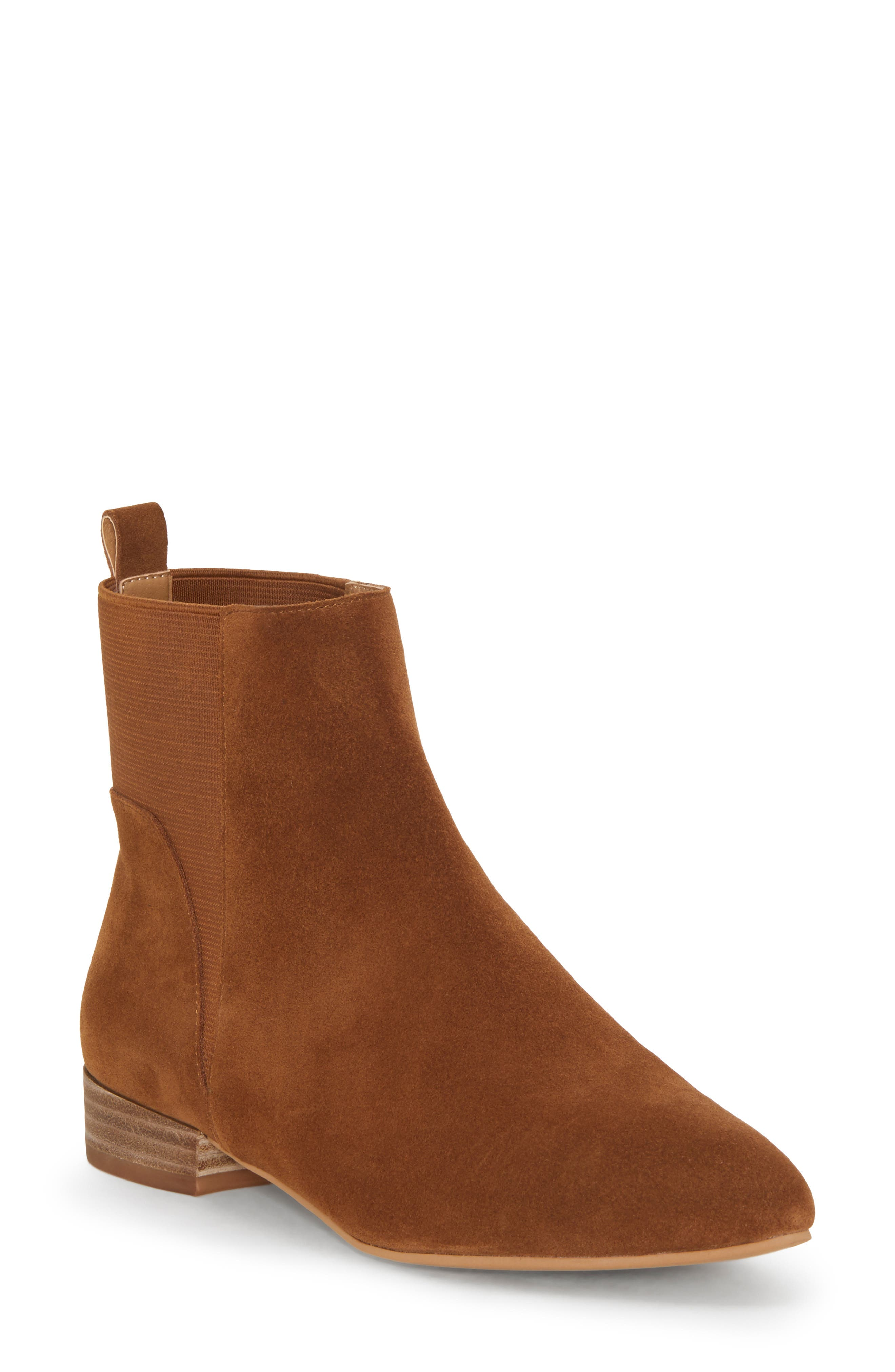Lucky Brand Gleldo Bootie- Brown