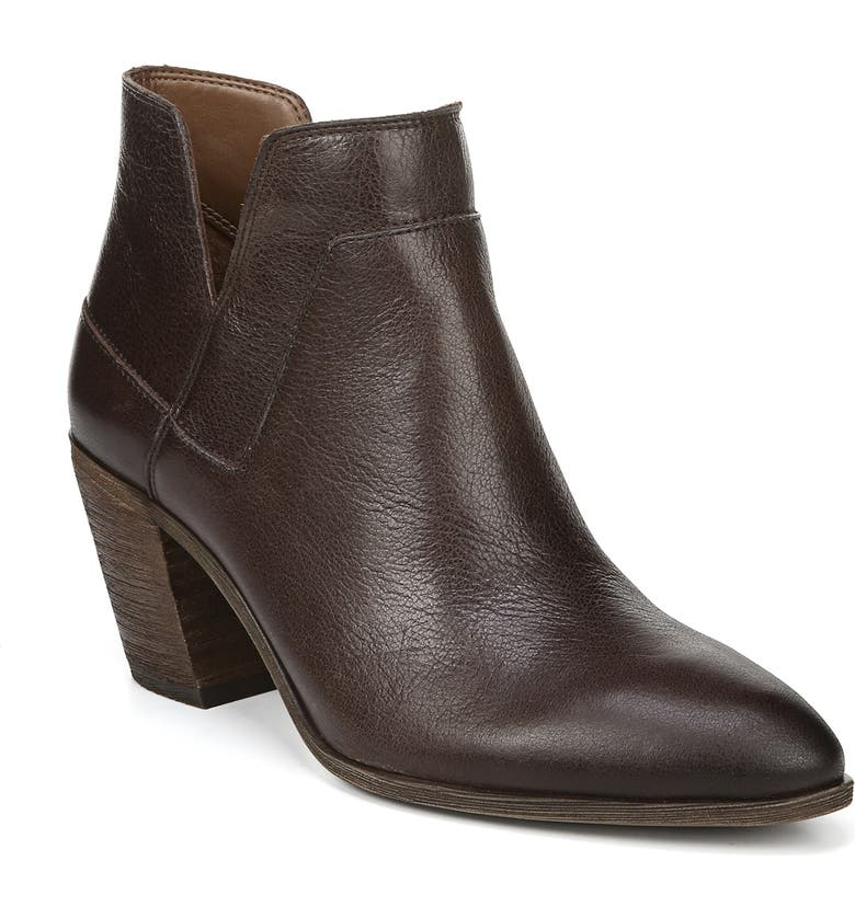 FRANCO SARTO Odessa Bootie, Main, color, BROWN LEATHER